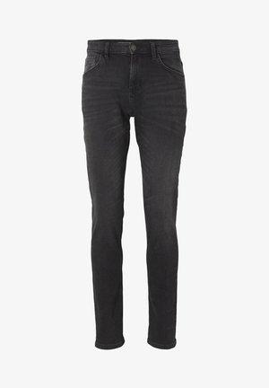 JOSH - Slim fit jeans - overdyed  black denim