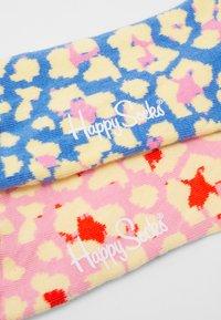 Happy Socks - ABSTRACT LEO 2 PACK - Socks - multi - 1