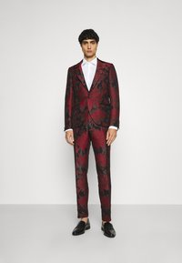 Twisted Tailor - LORRIS SUIT - Oblek - black/red - 0