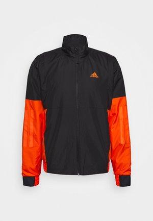 Outdoor jacket - black/orange
