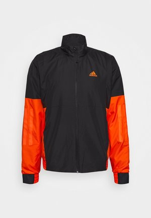 Kurtka Outdoor - black/orange