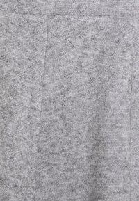 Even&Odd - Flared mini knitted skirt - Minikjol - mottled grey - 4