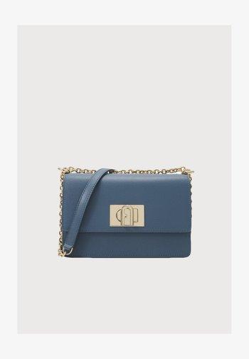 MINI CROSSBODY  - Across body bag - blu denim