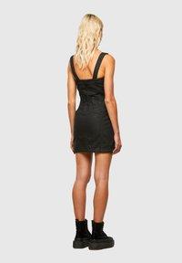 Diesel - VOLCANO - Denim dress - black - 2