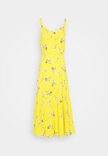 V CAMI MIDI  - Day dress - yellow