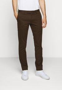 Polo Ralph Lauren - STRETCH SLIM FIT COTTON CHINO - Pantalon classique - mohican brown - 0