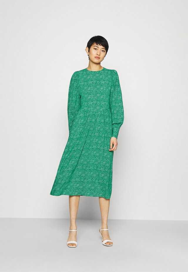 DOTA MIDI DRESS - Korte jurk - green