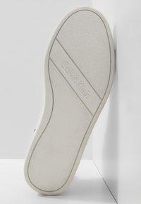 Calvin Klein - SOLEDAD - High-top trainers - white - 5