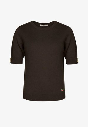 LUCCA  - T-shirts - chocolate
