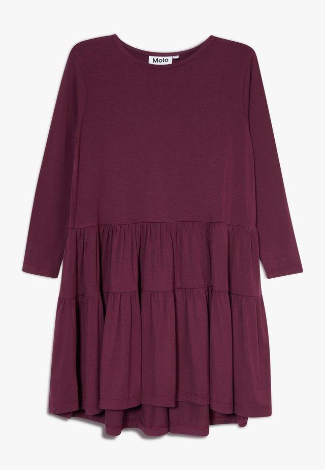 CHIA - Jersey dress - sumak