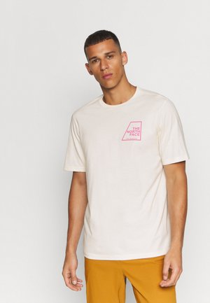 MENS RECOVER TEE - T-shirts print - pink
