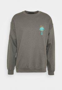 Mennace - UNISEX SHROOM PRINT  - Sweatshirt - charcoal - 0