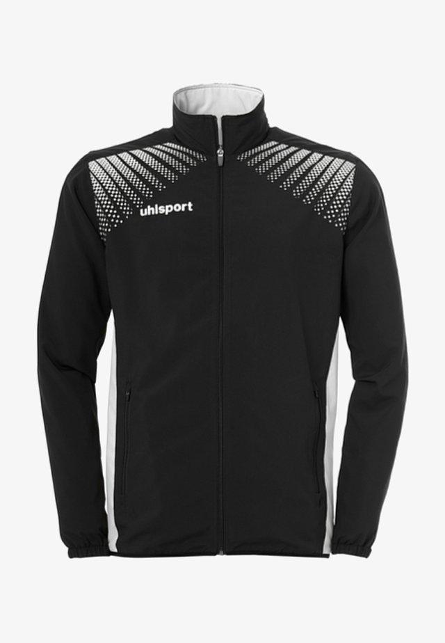 Sports jacket - schwarz / weiß