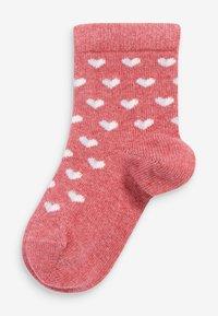 Next - 5 PACK  - Socks - red - 5