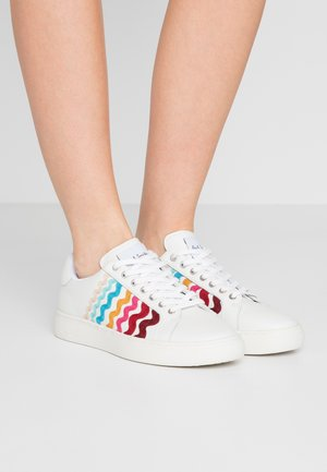 LAPIN - Matalavartiset tennarit - white/multicolor