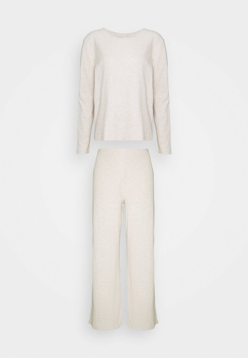 Nly by Nelly - COZY SET - Trousers - beige