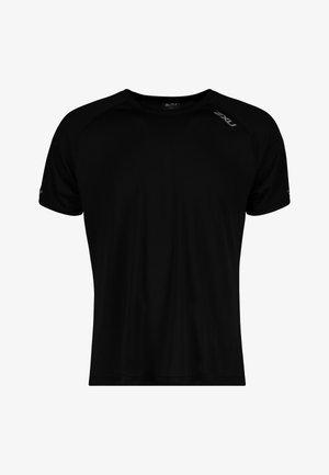 Basic T-shirt - black/silver reflective