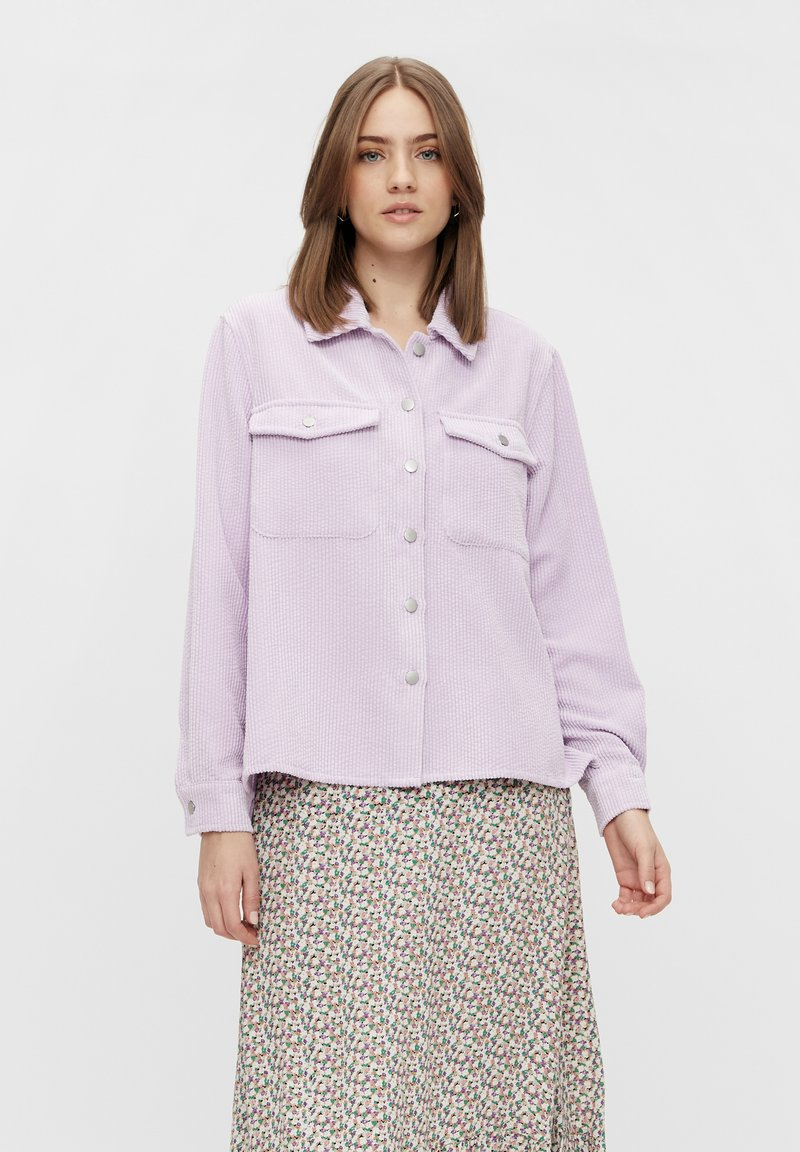 Pieces - Camisa - orchid bloom