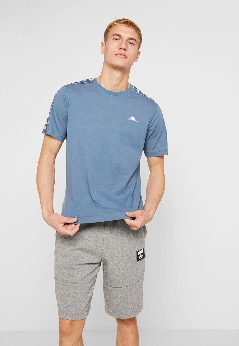 Kappa - GRENNER - Print T-shirt - dark blue