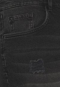 URBN SAINT - USOLSSON DESTROY - Denim shorts - sbit black - 2