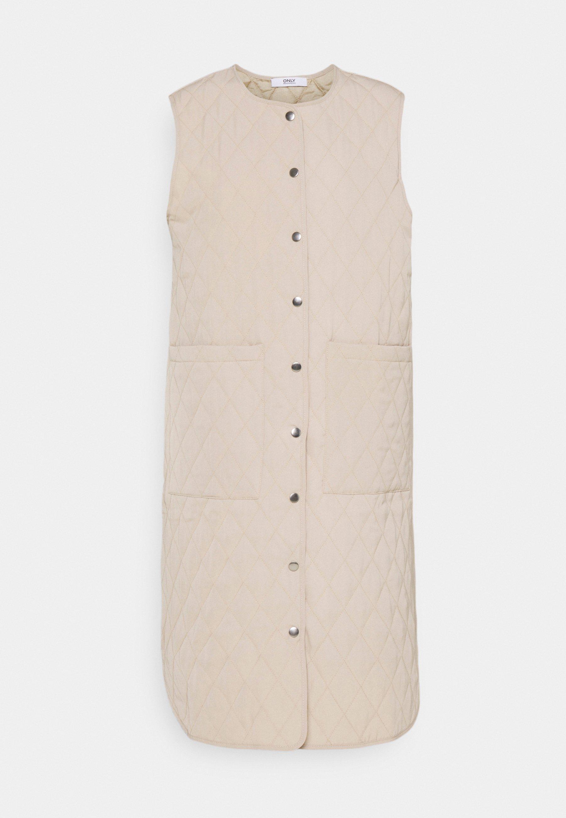 Femme ONLMARIE QUILTET LONG VEST - Veste sans manches
