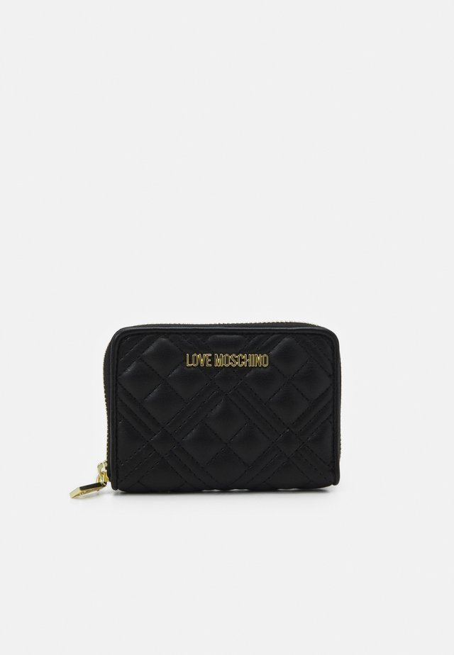QUILTED SOFT - Wallet - nero