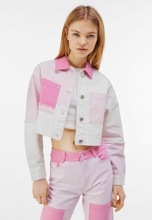 Giacca di jeans - pink