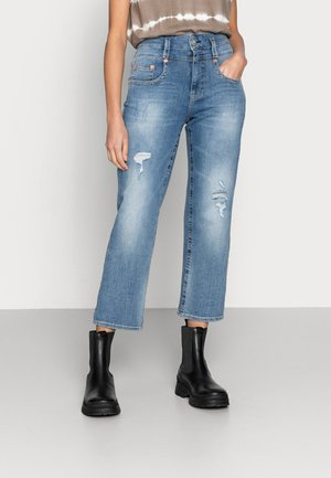 PITCH DENIM STRETCH - Relaxed fit jeans - blend destroy