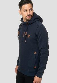 INDICODE JEANS - ELM - Zip-up hoodie - navy - 3