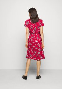 Lauren Ralph Lauren - PRINTED CREPE DRESS - Denní šaty - orient red - 2