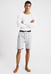 Ceceba - BERMUDA - Pyjama bottoms - grey/white - 1