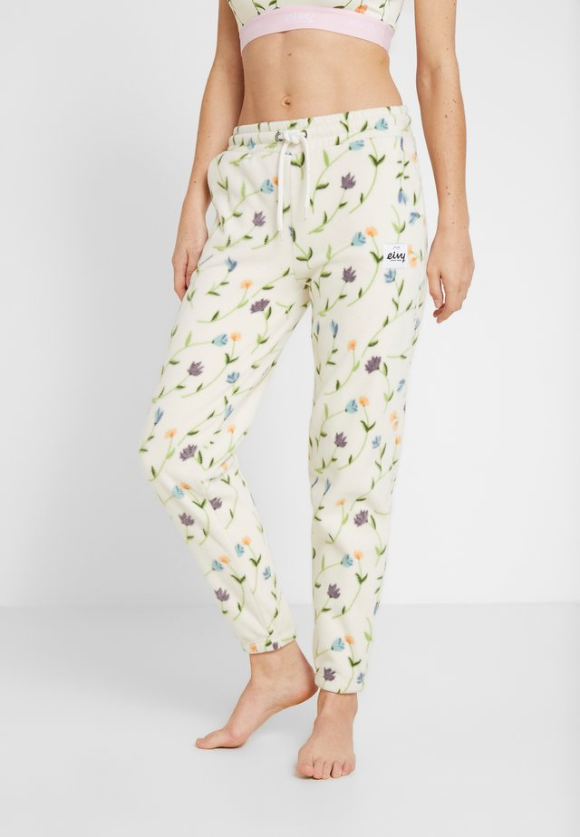 REST IN PANTS - Träningsbyxor - offwhite
