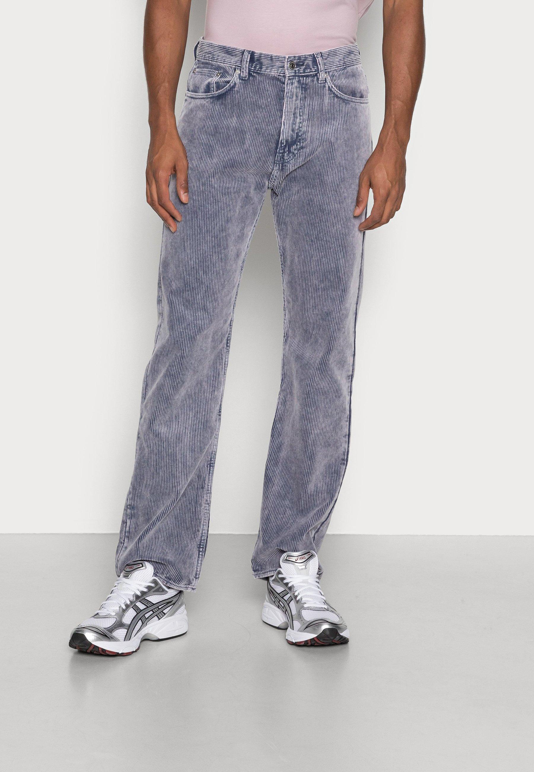 Uomo SPACE WASHED TROUSERS - Pantaloni