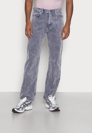 SPACE WASHED TROUSERS - Trousers - dark blue