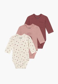 Hust & Claire - BASE BABY 3 PACK - Body - dusty rose - 0