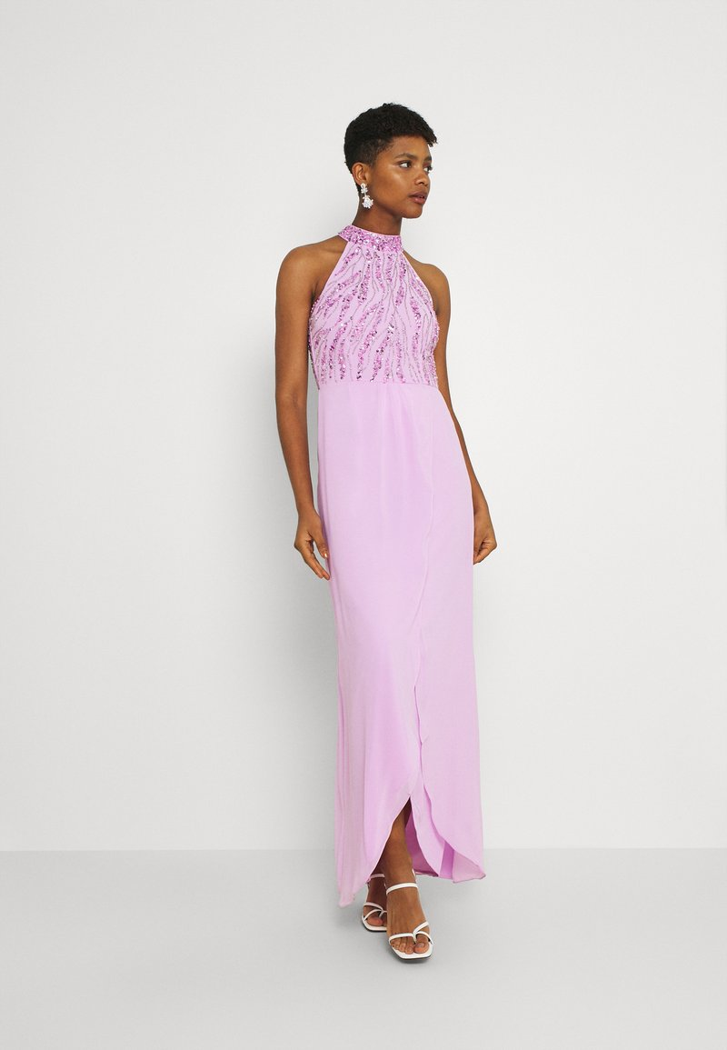 Lace & Beads - STELLA MAXI - Occasion wear - orchid bouquet