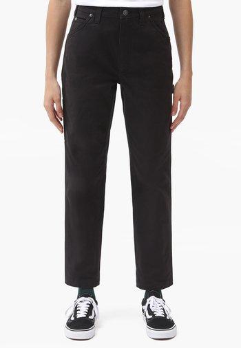 DC CARPENTER PANT W - Trousers - black