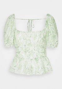Forever New - RUCHED WAIST DETAIL BLOUSE - Pusero - evergreen paisley - 3