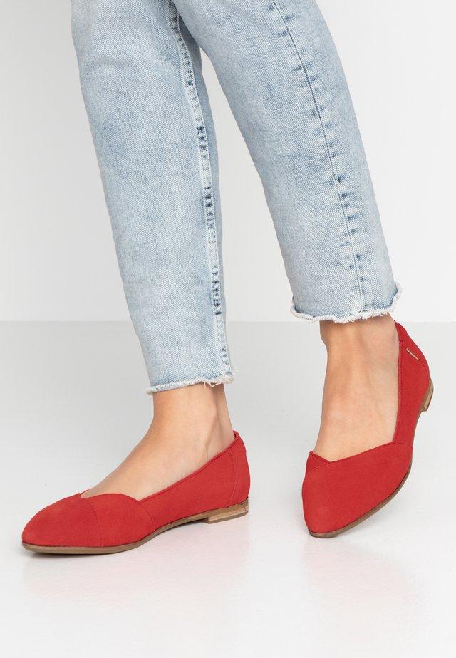 JULIE - Ballerina's - red