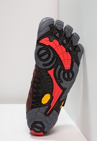 Vibram Fivefingers - V-TRAIN - Obuwie treningowe - grey/black/red - 4