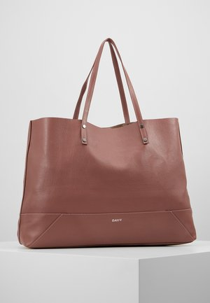 DAY SHINE SHOPPER - Tote bag - rose taupe
