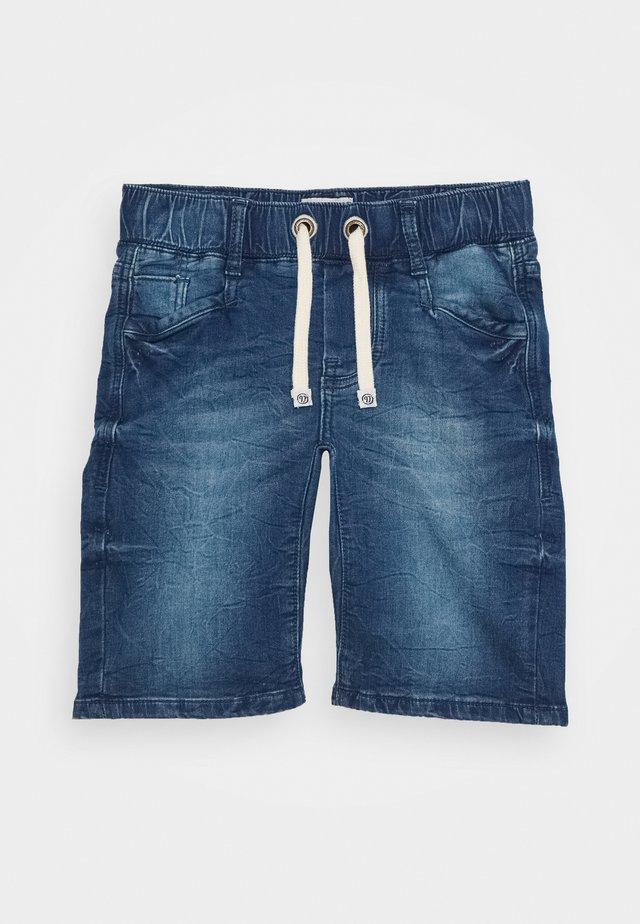 CECARIO - Denim shorts - cruziale blue