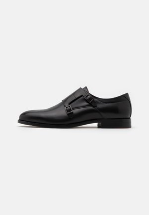 MIDTOWN MONK BURE - Smart slip-ons - black