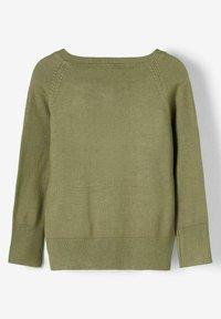 Name it - Cardigan - deep lichen green - 1