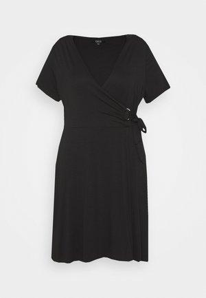 ORING DRESS - Jerseyjurk - black