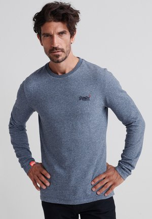 ORANGE LABEL - Long sleeved top - basalt blue
