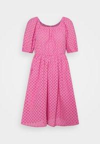 YAS - YASVOLANT DRESS SHOW - Denní šaty - azalea pink - 5