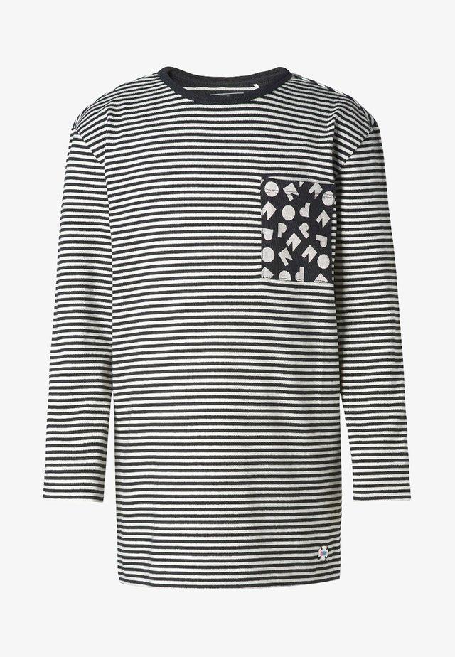 LANGARMSHIRT  - Long sleeved top - black