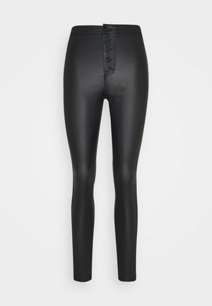 VMJOY COATED  - Skinny džíny - black