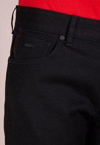 BOSS - MAINE - Straight leg jeans - black - 5